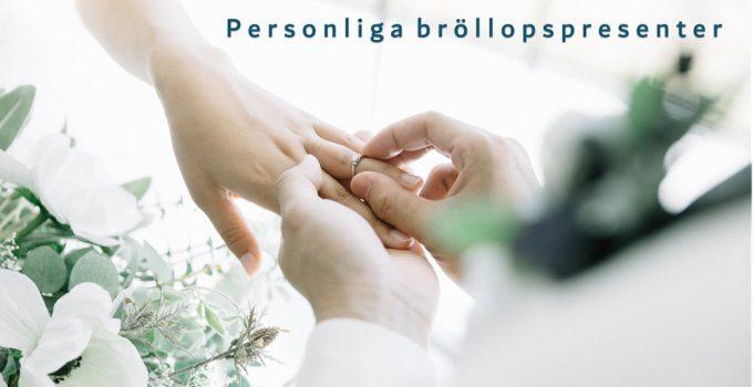 personliga bröllopspresenter
