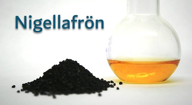 nigellafrön svartkumminolja