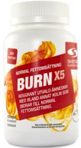 burn x5 resultat