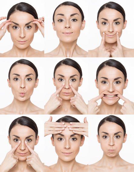 ansiktsyoga - fastare hud i ansiktet