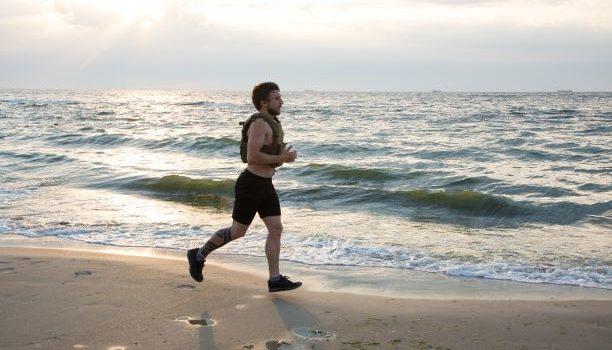 viktväst löpning och promenad